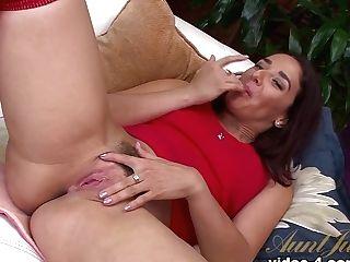 Crazy Superstar Sheena Ryder In Incredible Cougar, Onanism Pornography Flick