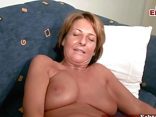 German Matures Mummy Masturbuate At Casting