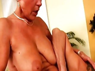 Hairy Big Breast Mummy Fucked