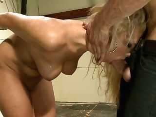 Blonde Nymphomaniac With Big Melons Gets Her Muff Fucked Hard And Deep
