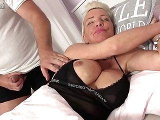 Exotic German Housewife Deepthroats Big Pink Cigar And Gets Fucked Hard - Maturenl